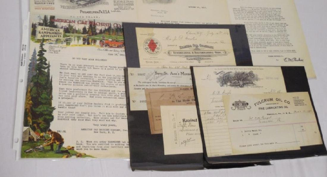 Lot of Approx. 15 Pieces of Assorted Ephemera - 4