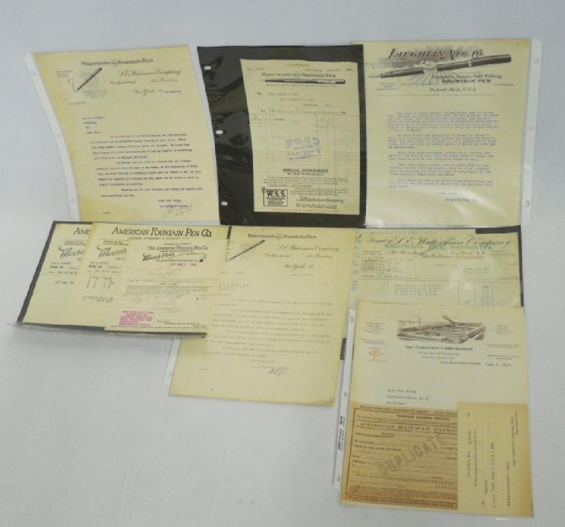 Lot of Approx. 10 Pieces of Assorted Ephemera