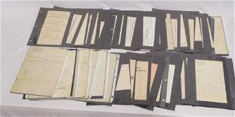 Lot of Approx 100 Pieces of Assorted Ephemera