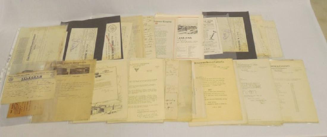Lot of Approx. 50+ Pieces of Assorted Ephemera