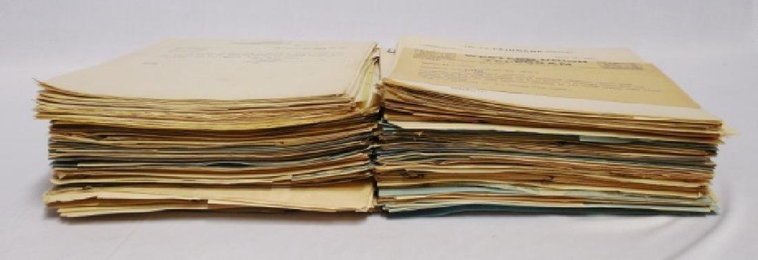 Lot of Several Hundred Loose Leaf Papers - 2