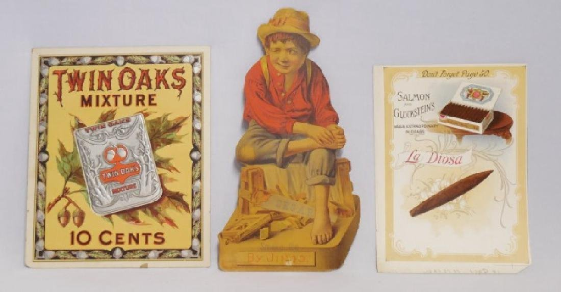 Lot of 3 Tobacco Advertising Pieces