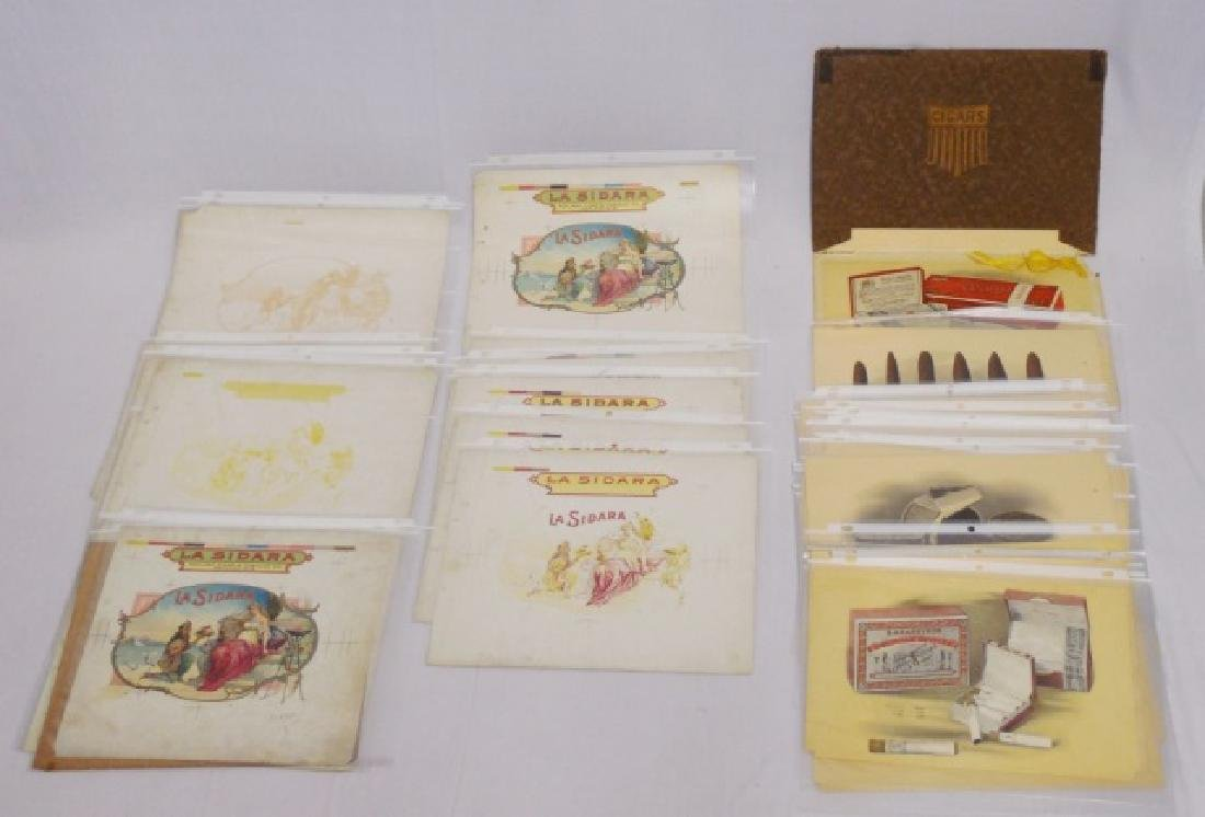 Lot of Tobacco and Cigar Booklet Material
