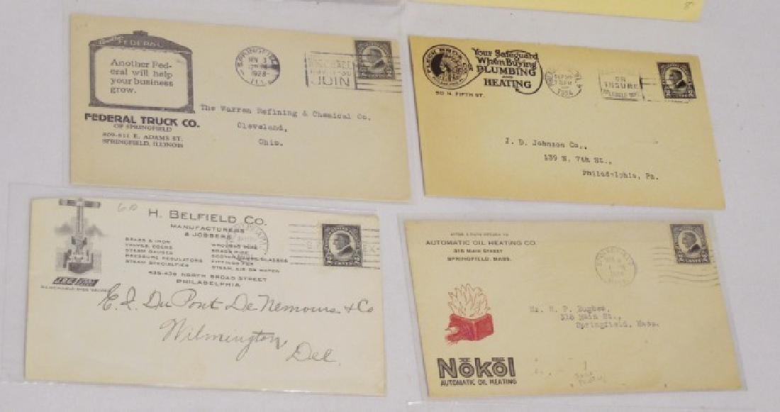 Lot of 13 Circulated Envelopes with Advertising - 3