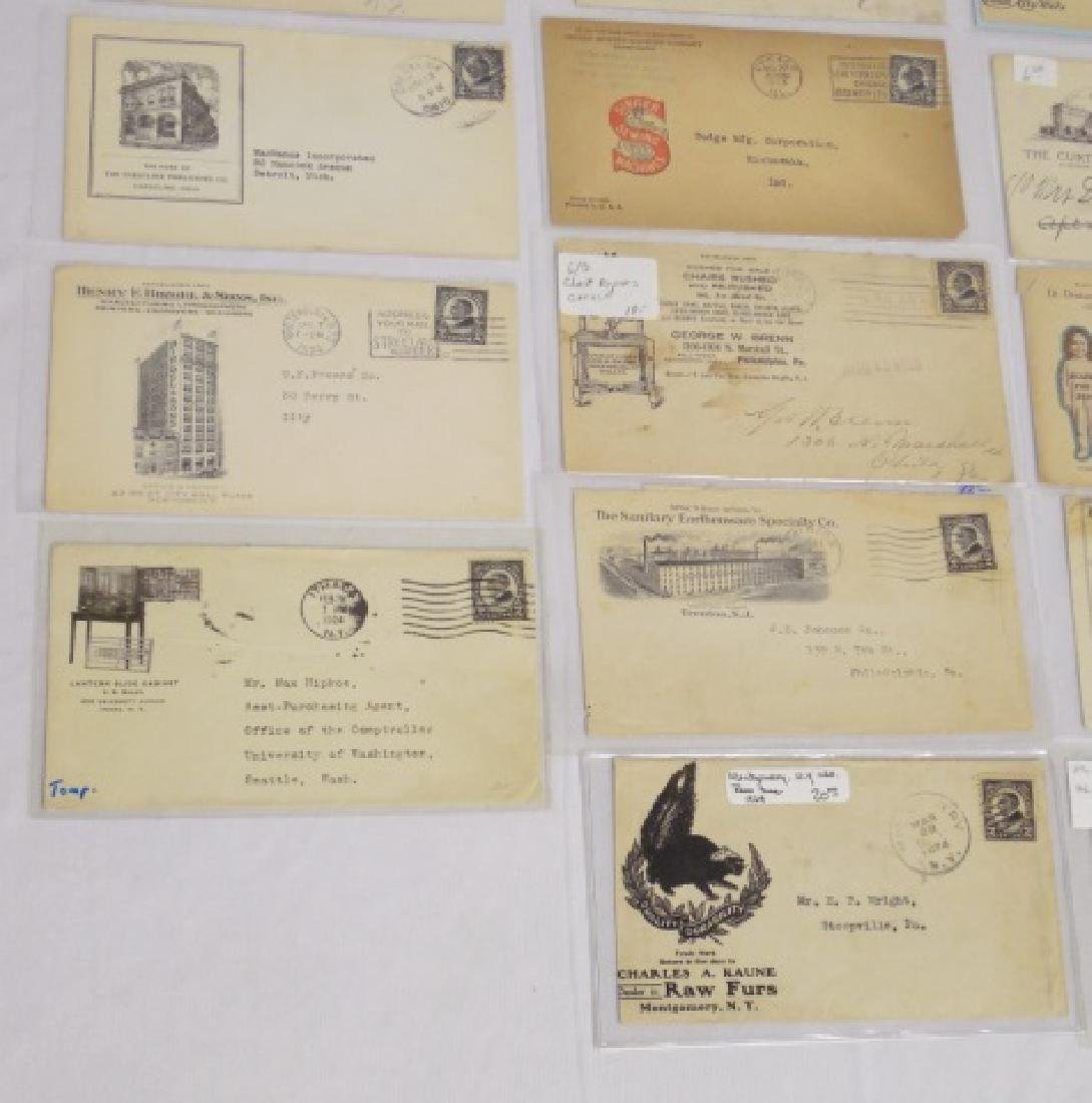 Lot of 24 Circulated Envelopes with Advertising - 3
