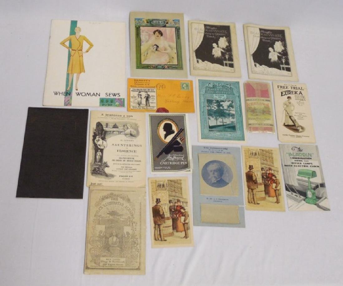 Lot of 16 Assorted Booklets/Catalogs/Ads