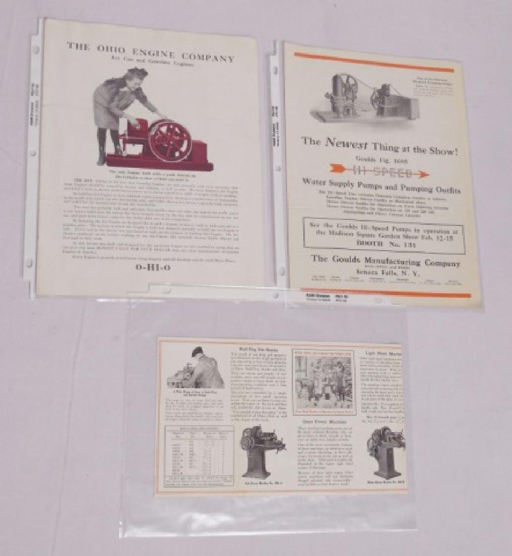Lot of 3 Agricultural Advertising Paper Items