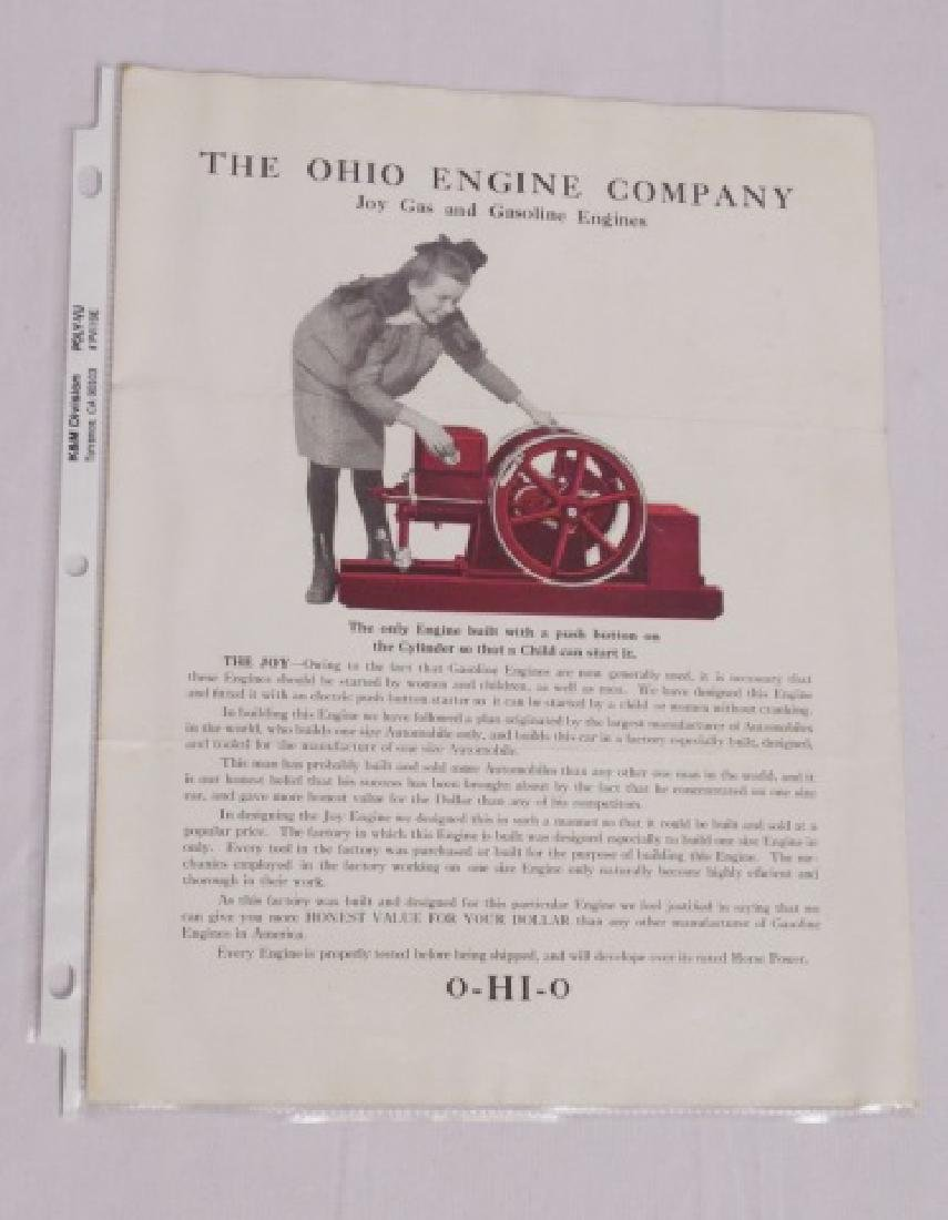 Lot of 3 Agricultural Advertising Paper Items - 2