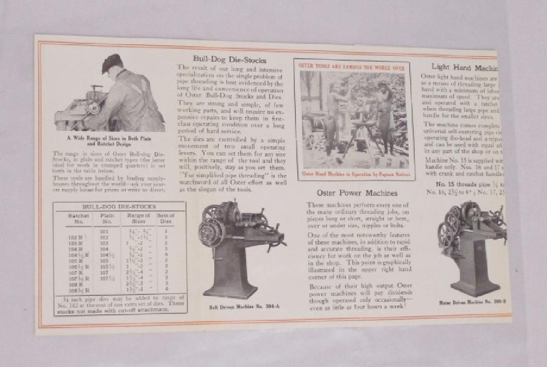 Lot of 3 Agricultural Advertising Paper Items - 4
