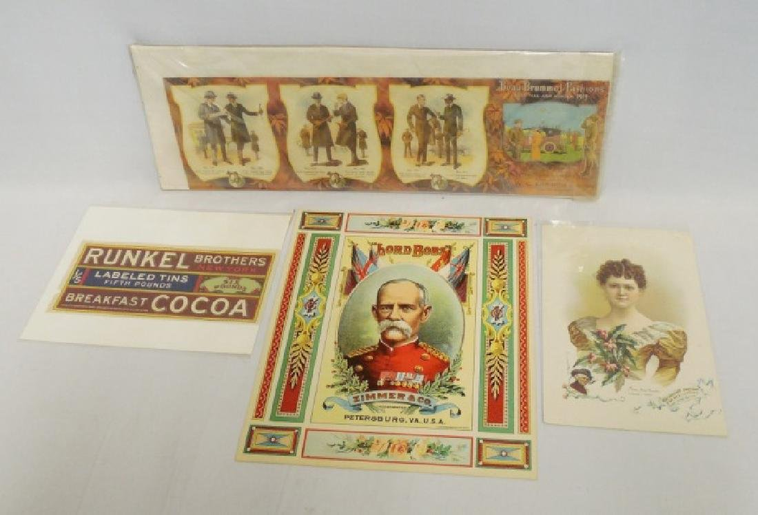 Lot of 4 Various Advertising Pieces
