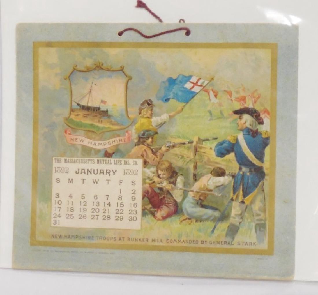 Lot of 5 Historical Figure Calendars - 2