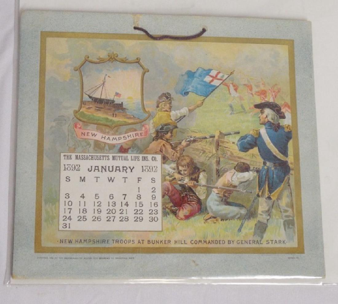Lot of 5 Historical Figure Calendars - 5