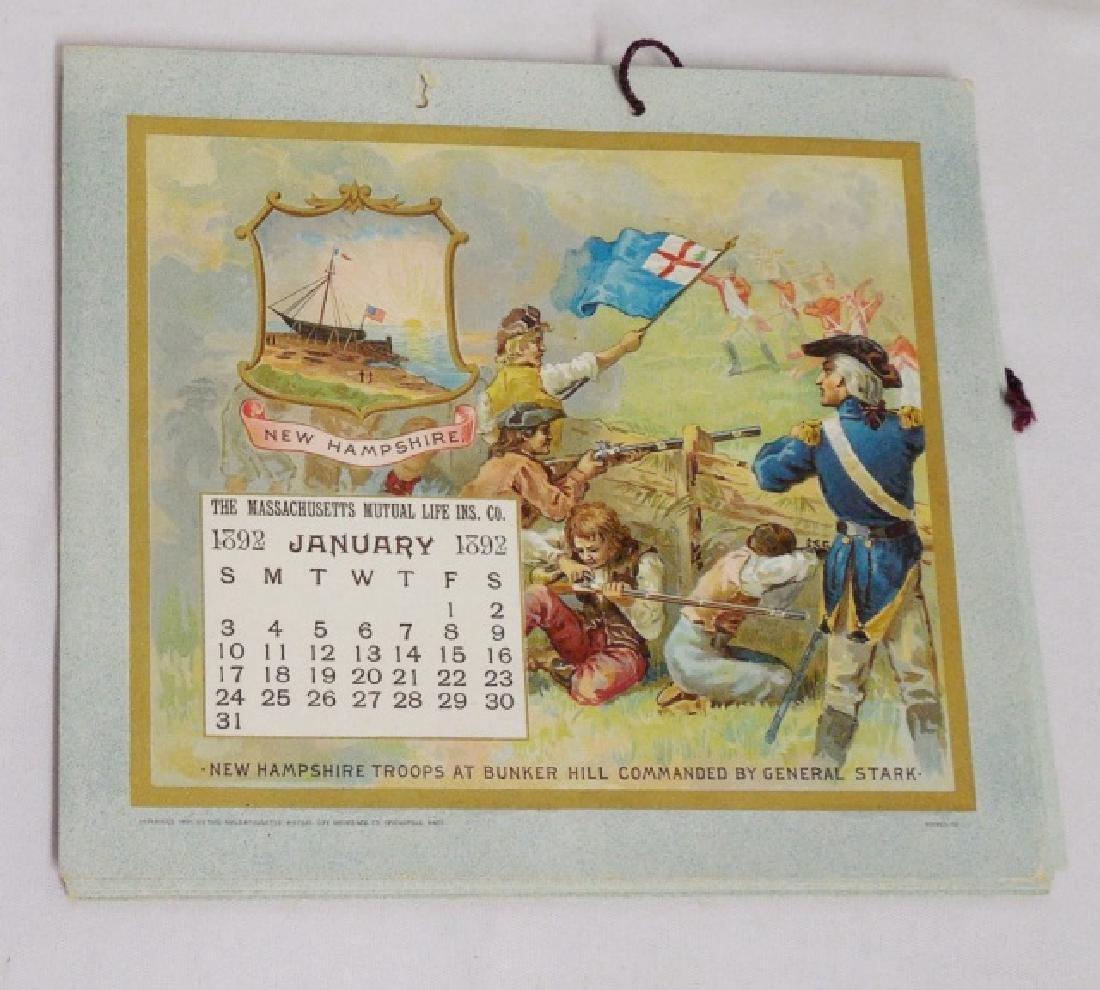Lot of 5 Historical Figure Calendars - 6