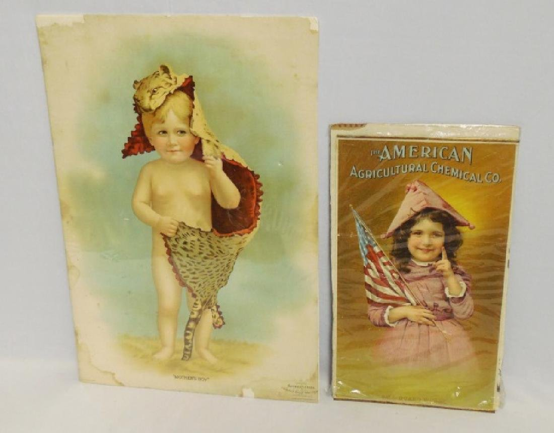 Lot of 2 Paper Advertisements