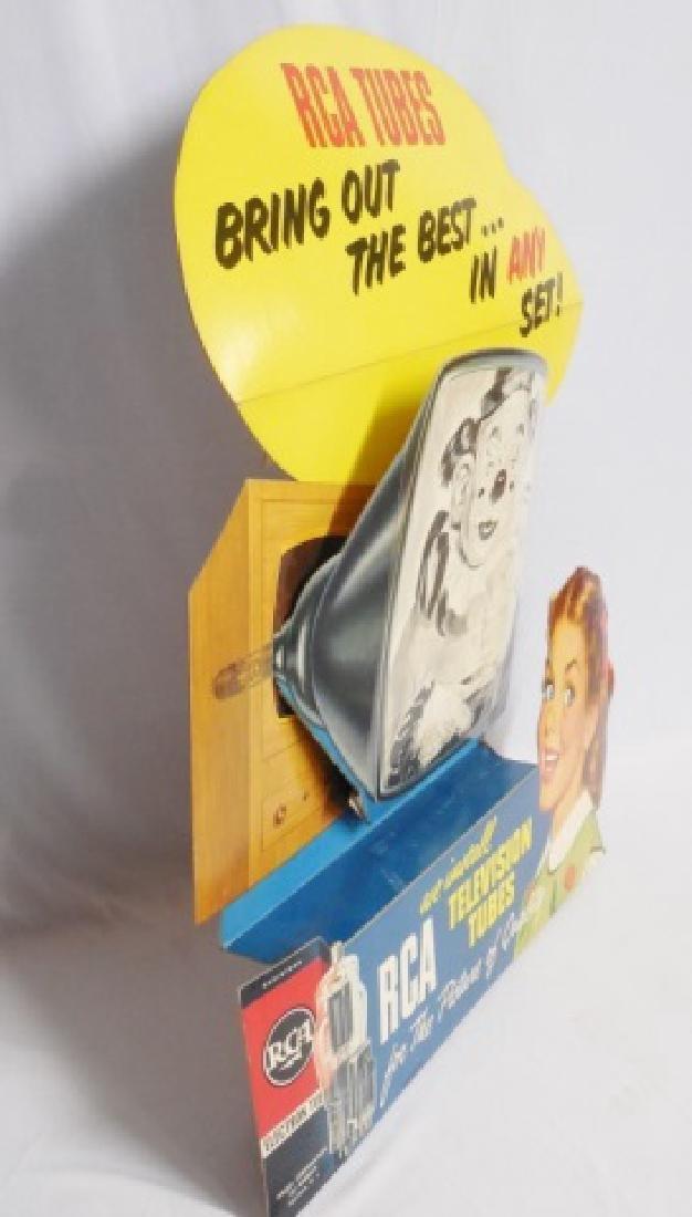 Cardboard Die-Cut 3-D Display Ad - 2