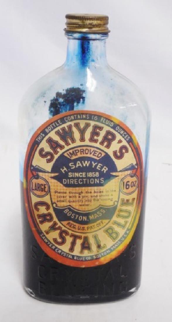 """Sawyer's Crystal Blue Large 16OZ"" Bottle"