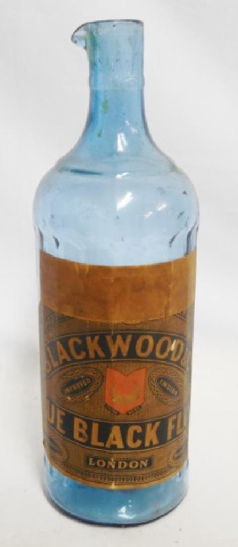 """""""Blackwood and Co's Blue Black Fluid"""" Bottle"""