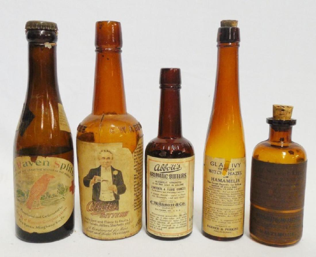 Lot of 5 Assorted Bottles