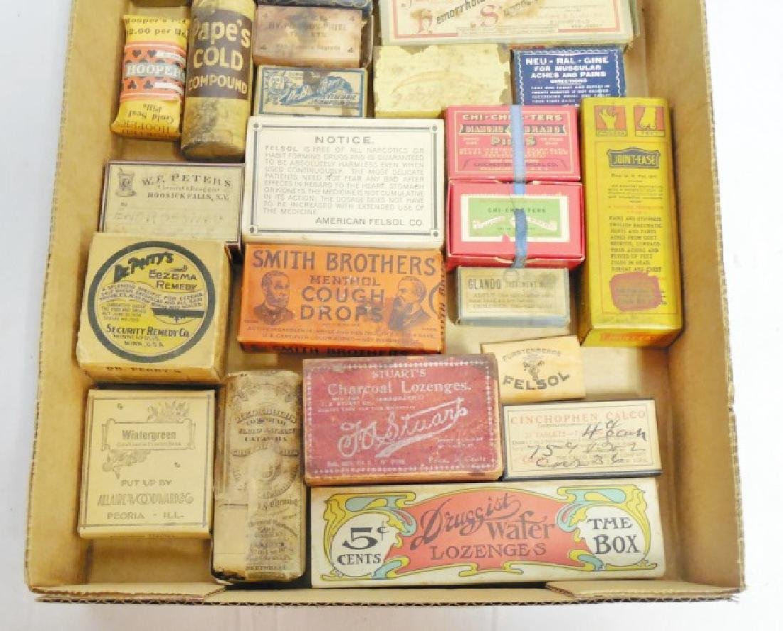 Lot of 26 Assorted Medicinal Cardboard Boxes - 3