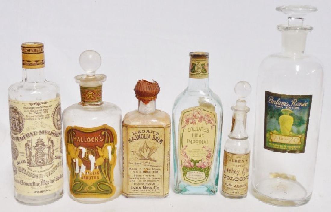 Lot of 6 Perfume/Beauty Product Bottles