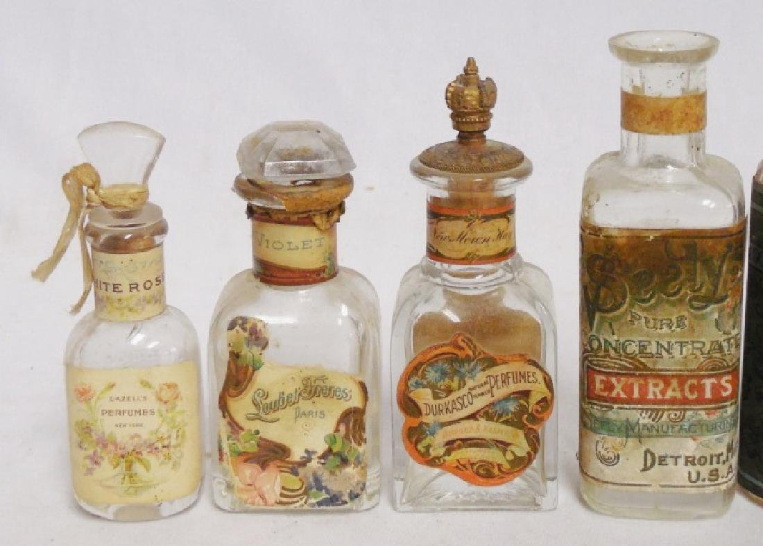 Lot of 9 Perfume/Extract/Cologne Bottles - 2