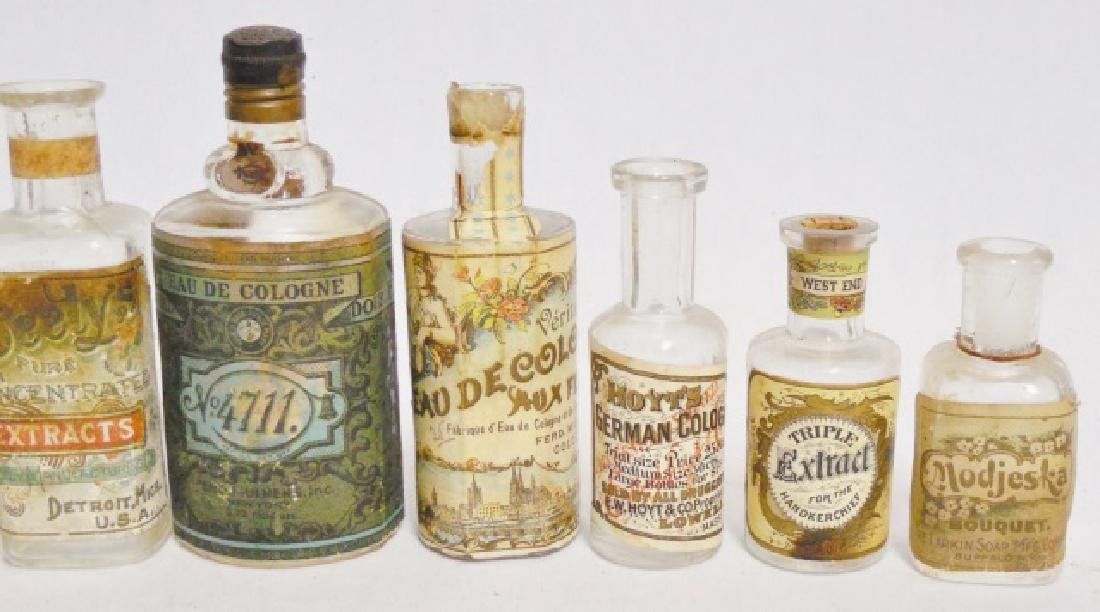 Lot of 9 Perfume/Extract/Cologne Bottles - 3