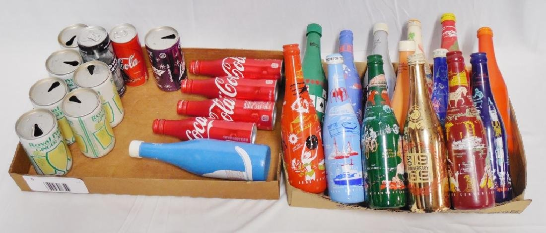 Lot of 14 Coca-Cola Convention Bottles