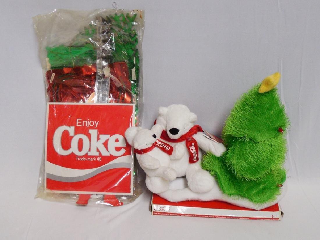 Lot of Coca-Cola Christmas Decorations