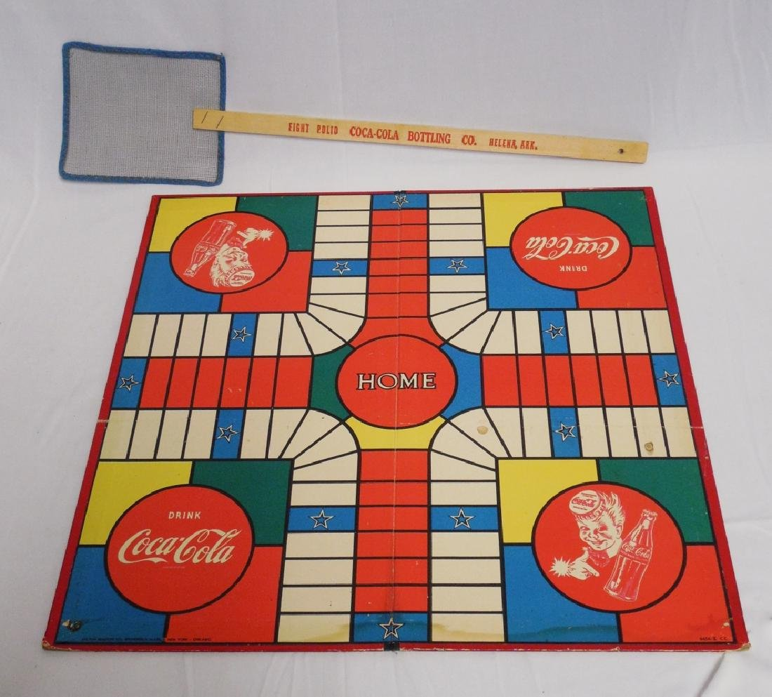 Coca-Cola Gameboard and Fly Swatter