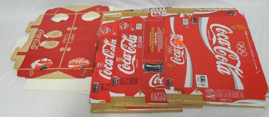Coca-Cola Bottle and Can Cardboard Boxes