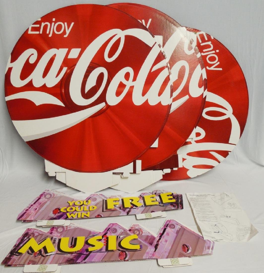 Coca-Cola Cardboard Advertisement