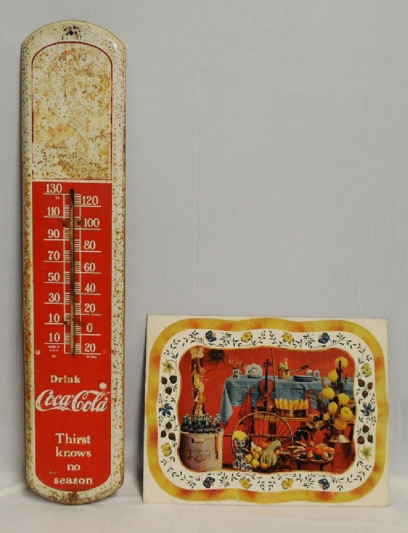 Lot of 2 Tin Collectibles