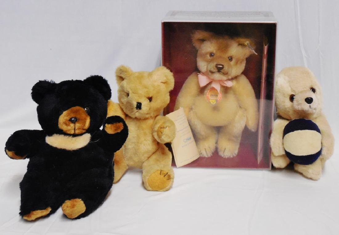 Lot of 4 Teddy Bears