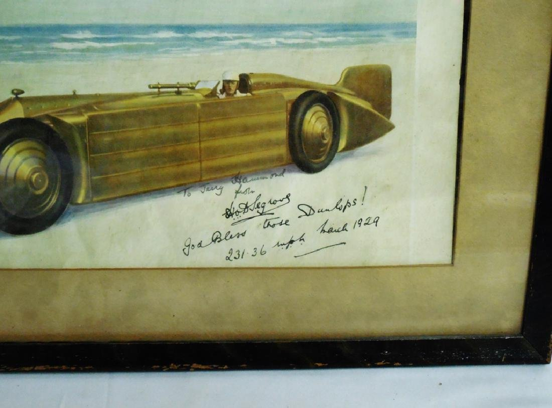 Framed Automotive Picture - 2