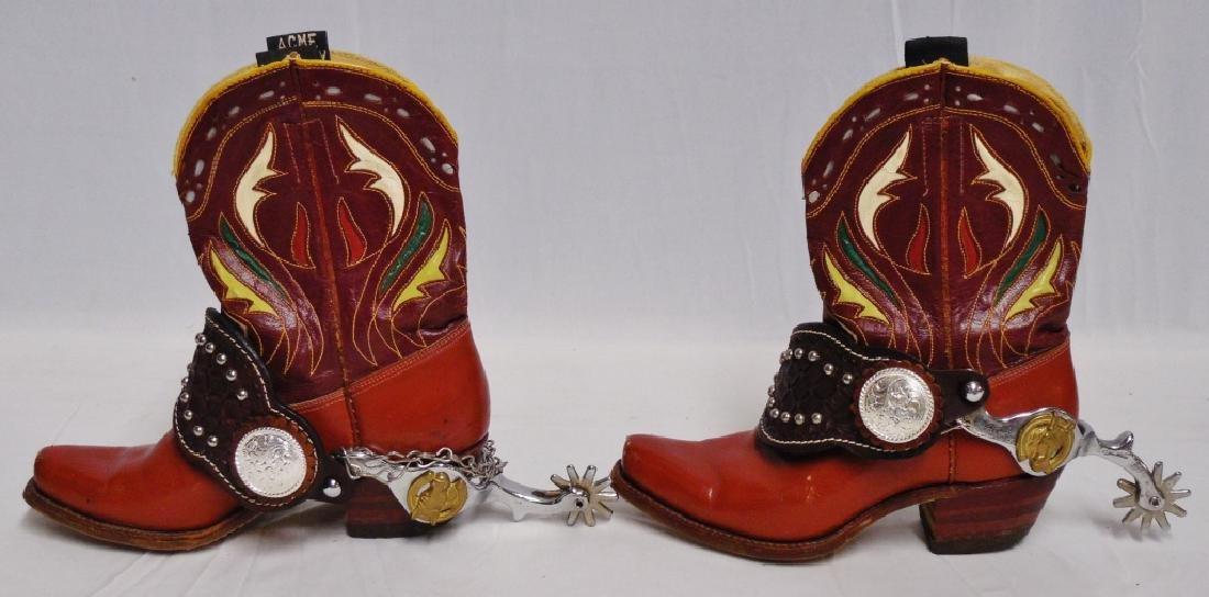 Hop-A-Long Cassidy Cowboy Boots