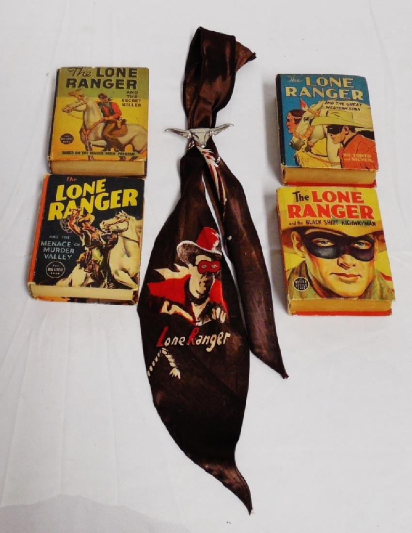 Lot of 4 Lone Ranger Little Big Books