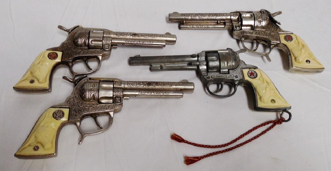 Lot of 4 Cap Guns