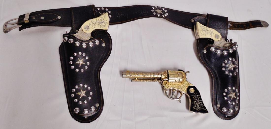 Lot of 3 Hop-A-Long Cassidy Cap Guns