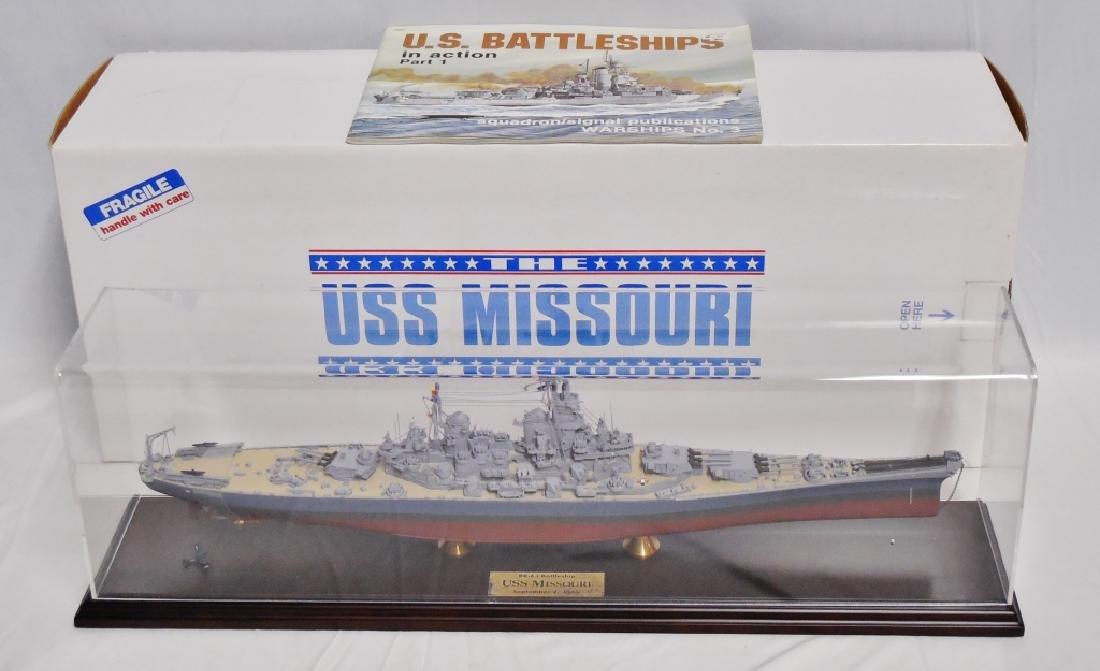 USS Missouri BB-63 Battleship Scale Detailed Model