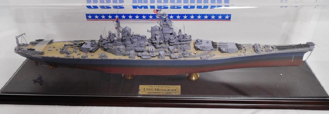USS Missouri BB-63 Battleship Scale Detailed Model - 2