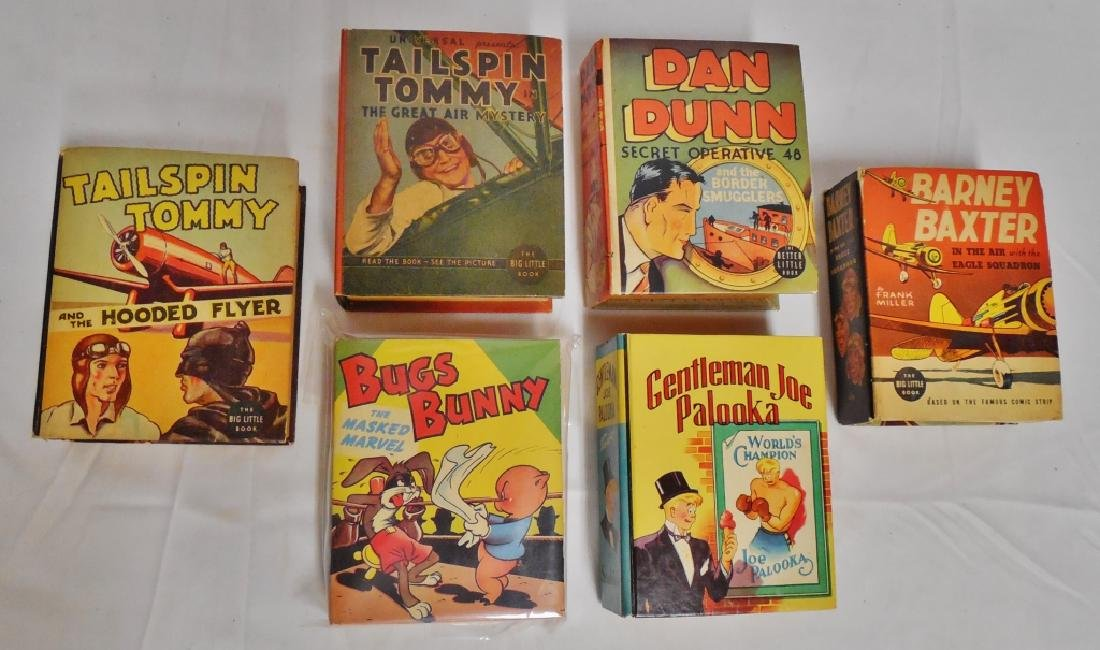 Lot of 6 Big Little Books