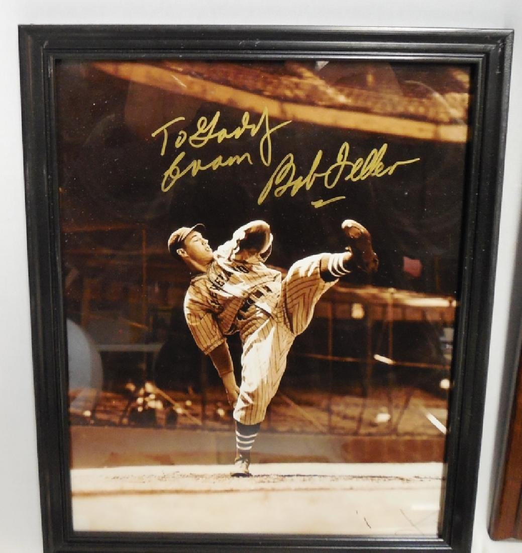 Lot of 4 Signed Baseball Pictures and Plaques - 4