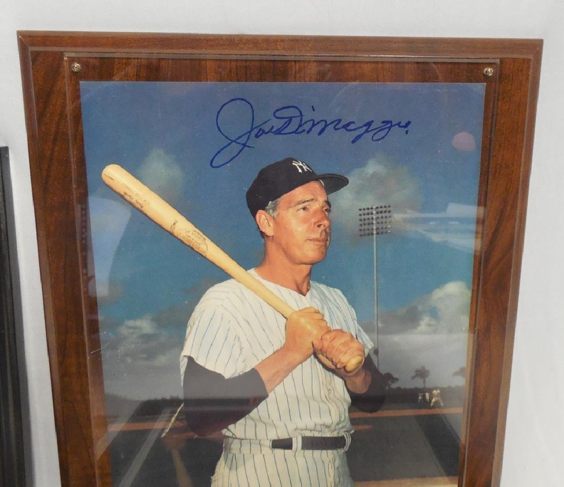 Lot of 4 Signed Baseball Pictures and Plaques - 5