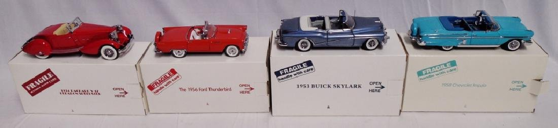 Lot of 4 Danbury Mint Cars