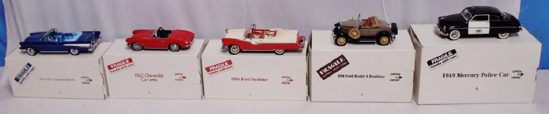Lot of 5 Danbury Mint Cars