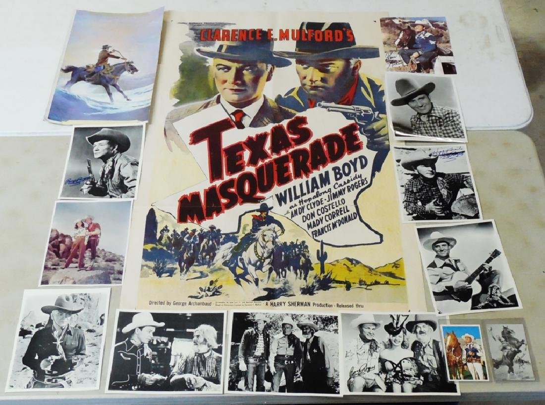 "Texas Masquerade Movie Poster 44"" H x 28"" W"