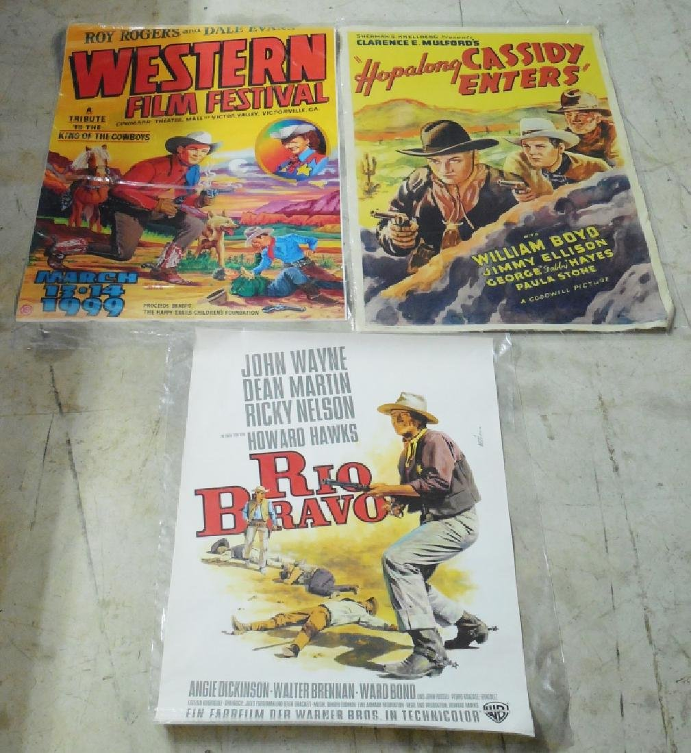 Lot of 4 Western Movie Posters