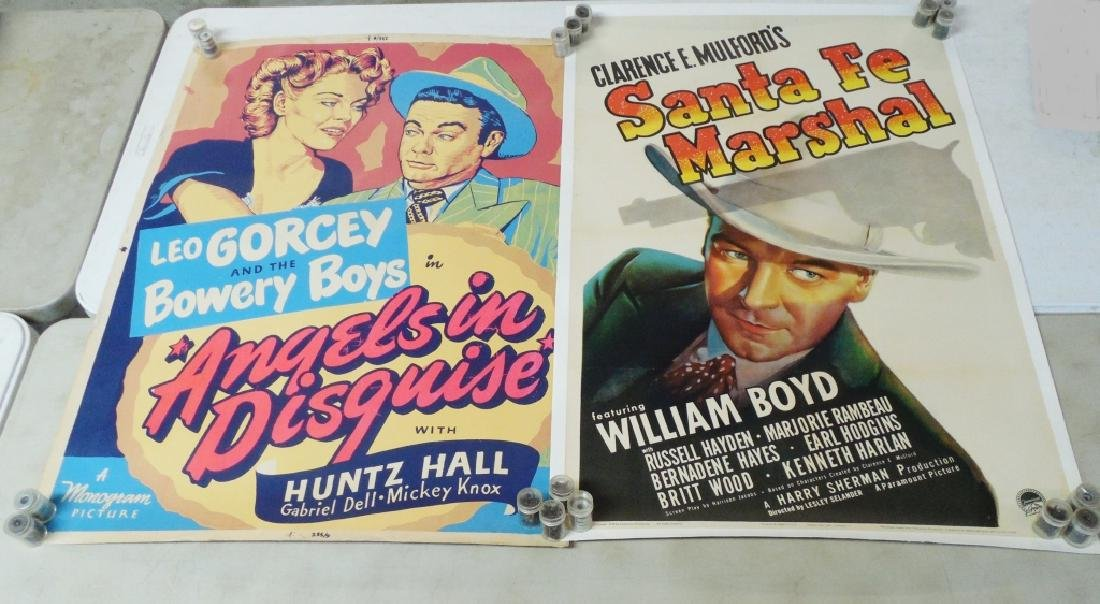 Lot of 4 Movie Posters