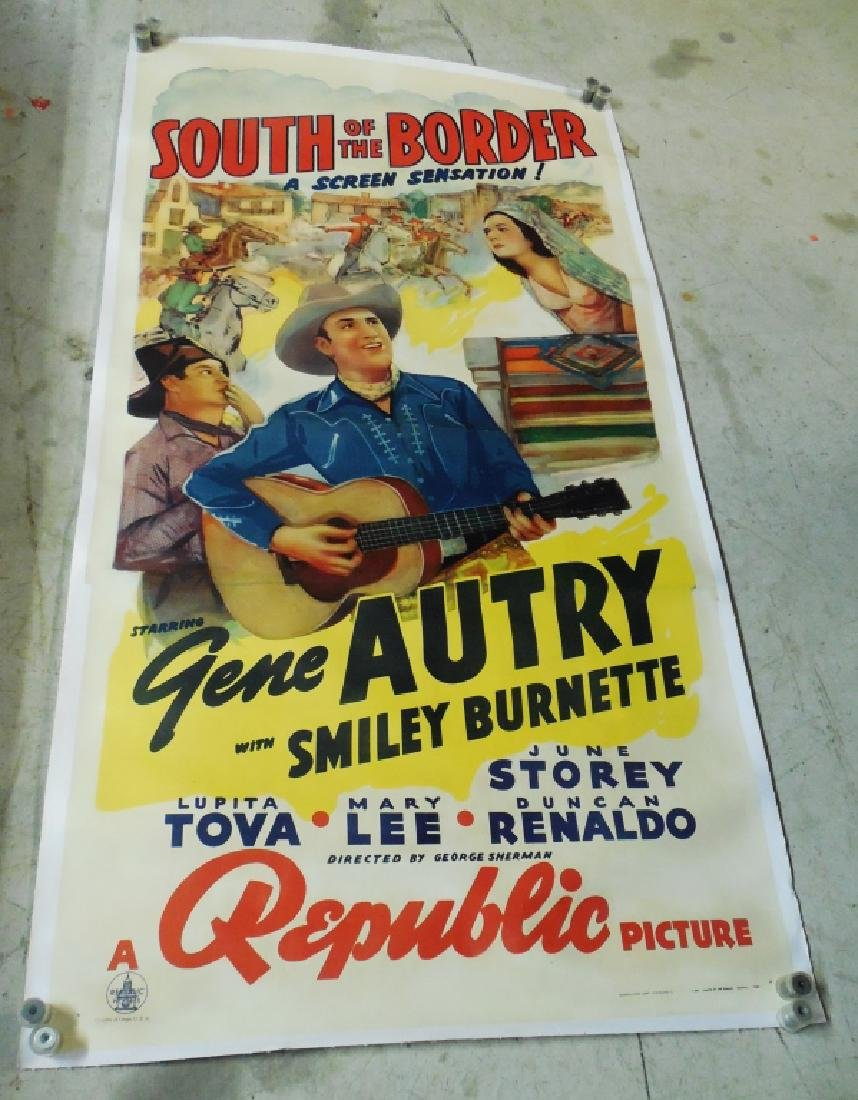 "Large Movie Poster ""South of the Border"""
