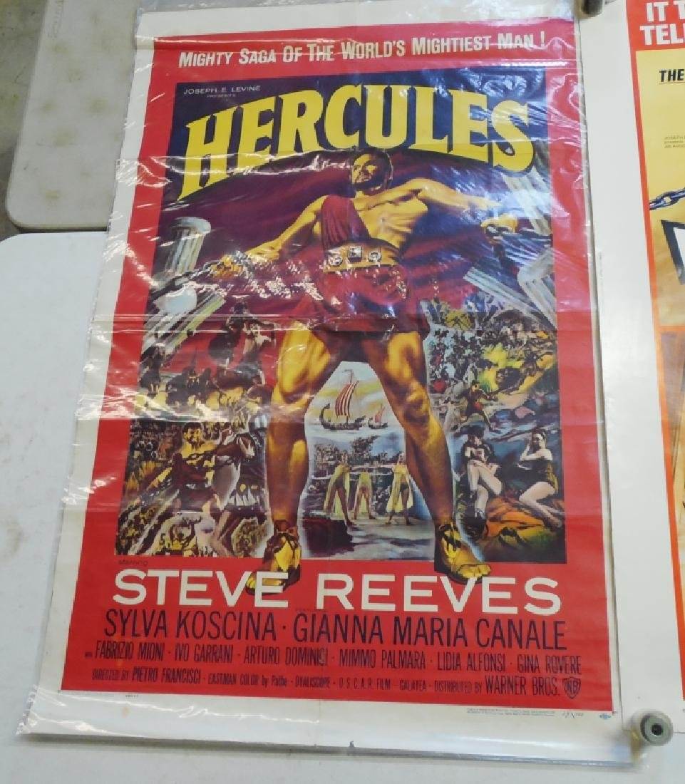 Lot of 2 Hercules Movie Posters - 2